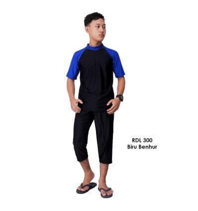Baju Renang Pria Rizqy RDL 300 Biru Benhur