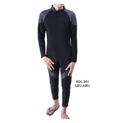 Baju Renang Pria Rizqy RDL 301 Abu