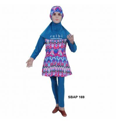 Baju Renang Anak Perempuan Sulbi SBAP 169