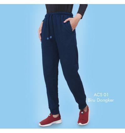 Celana Senam Wanita ACS 01 Dongker