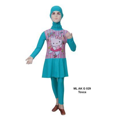 Baju Renang Anak TK Deedo ML AK G 029 Tosca