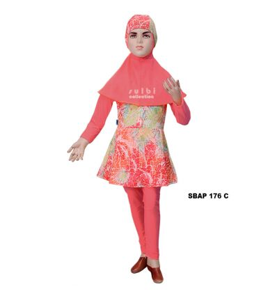 Baju Renang Anak Perempuan Sulbi SBAP 176 C