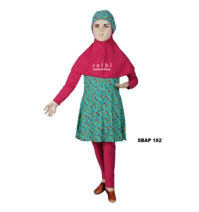 Baju Renang Anak Perempuan Sulbi SBAP 182