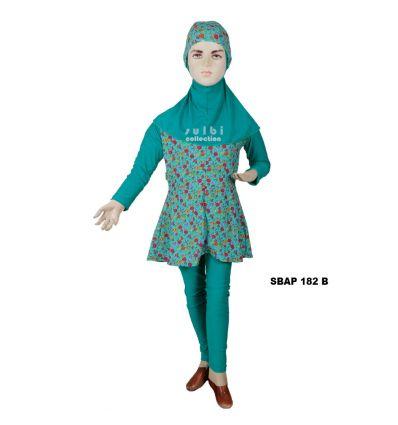 Baju Renang Anak Perempuan Sulbi SBAP 182 b