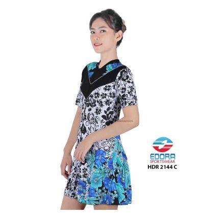 Baju Renang Wanita Edora Semi Cover HDR 2144 c