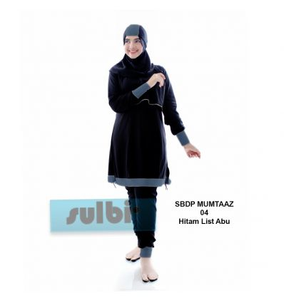 Baju Renang Muslimah Sulbi Mumtaaz 04 Porpoise