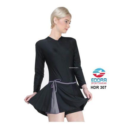 Baju Renang Wanita Edora Semi Cover HDR 307