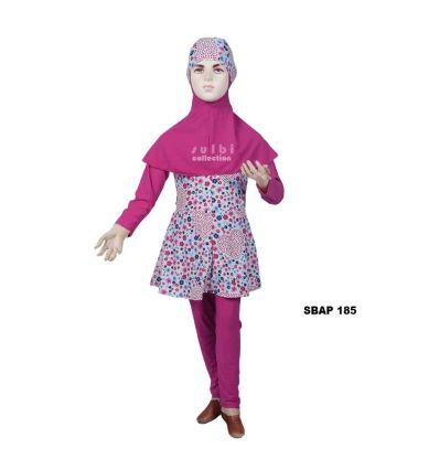 Baju Renang Anak Perempuan Sulbi SBAP 185