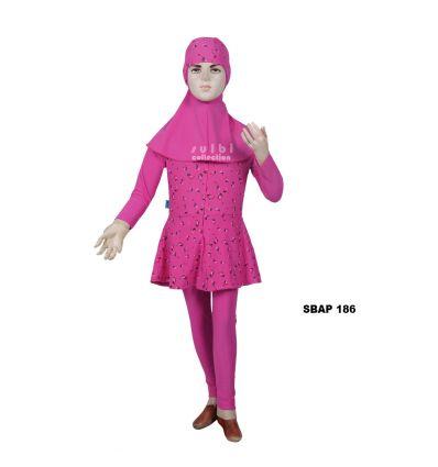 Baju Renang Anak Perempuan Sulbi SBAP 186