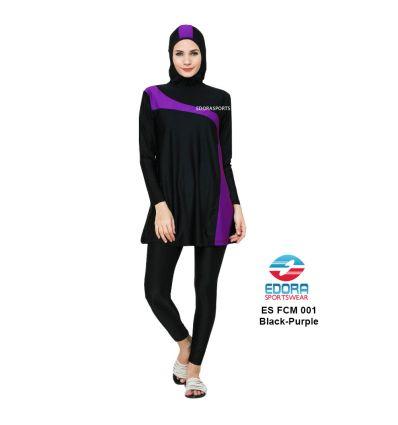 Baju Renang Muslimah Edora ES FCM 001 Ungu