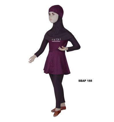 Baju Renang Anak Perempuan Sulbi SBAP 188