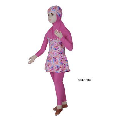 Baju Renang Anak Perempuan Sulbi SBAP 189