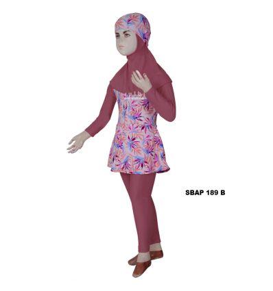 Baju Renang Anak Perempuan Sulbi SBAP 189 b