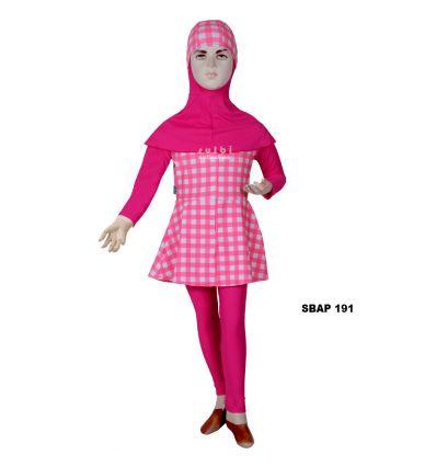 Baju Renang Anak Perempuan Sulbi SBAP 191