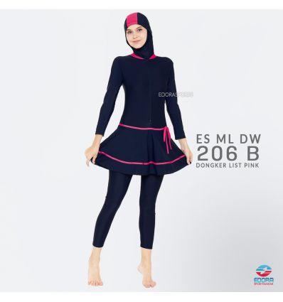 Baju Renang Muslimah Edora ES ML DW 206 B
