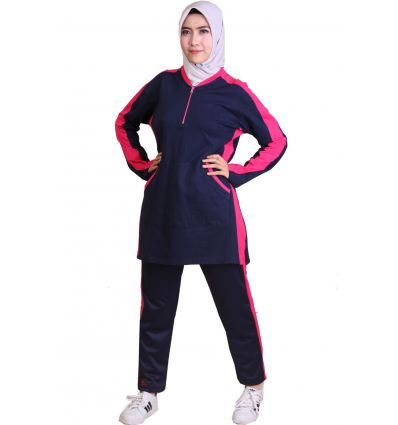 Celana Jogging Wanita Rocella navy