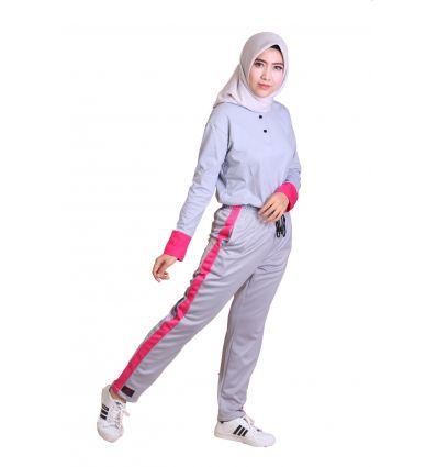 Celana Jogging Wanita Rocella Dim Grey