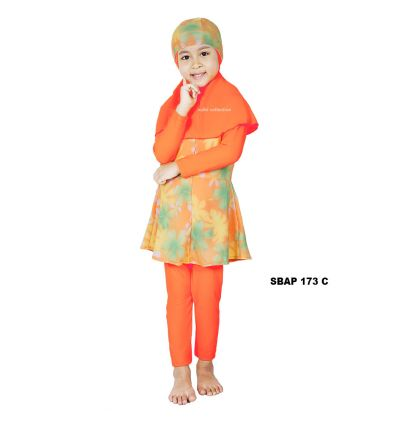Baju Renang Anak Perempuan Sulbi SBAP 173 c