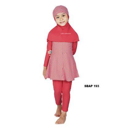 Baju Renang Anak Perempuan Sulbi SBAP 193