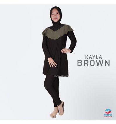 Baju Renang muslimah Edora Kayla Brown