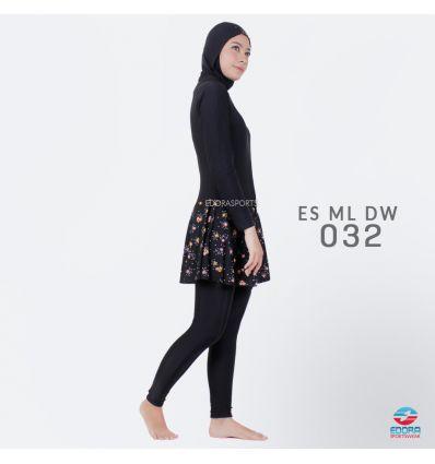 Baju Renang Muslimah Edora ES ML DW 032
