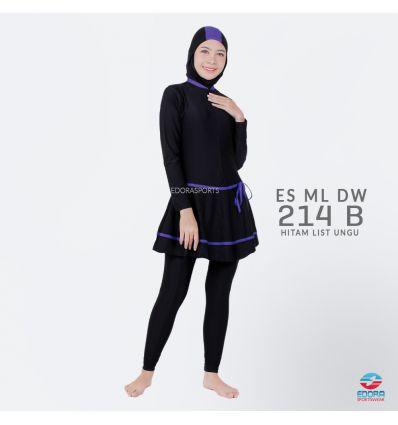 Baju Renang Muslimah Edora ES ML DW 214 B