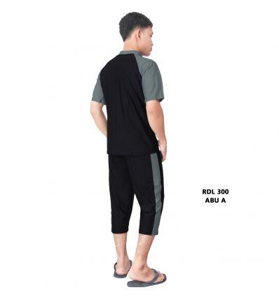 Baju Renang Pria Rizqy RDL 300 Abu A