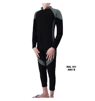 Baju Renang Pria Rizqy RDL 301 Abu B