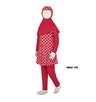 Baju Renang Anak Perempuan Sulbi SBAP 196