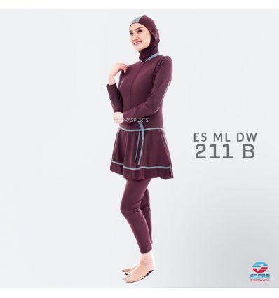 Baju Renang Muslimah Edora ES ML DW 211 B