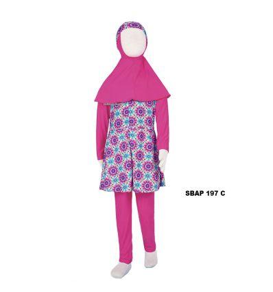 Baju Renang Anak Perempuan Sulbi SBAP 197 C