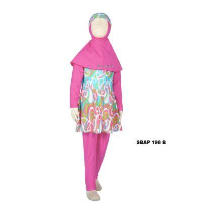 Baju Renang Anak Perempuan Sulbi SBAP 198 B