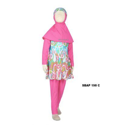 Baju Renang Anak Perempuan Sulbi SBAP 198 C