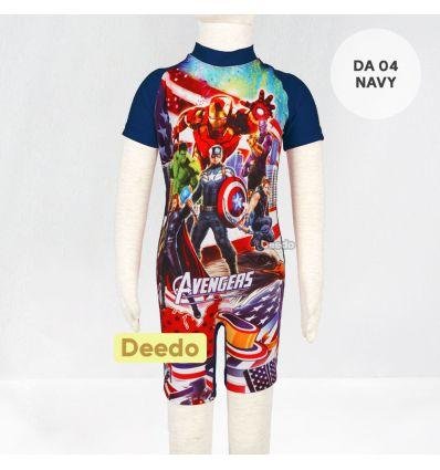 Baju Renang Anak TK Deedo DA 04 Navy Avenger's