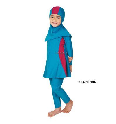 Baju Renang Anak Perempuan Sulbi SBAP P 10