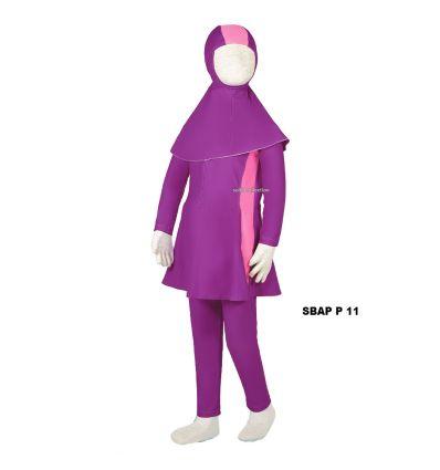 Baju Renang Anak Perempuan Sulbi SBAP P 11