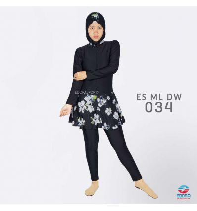 Baju Renang Muslimah Edora ES ML DW 034