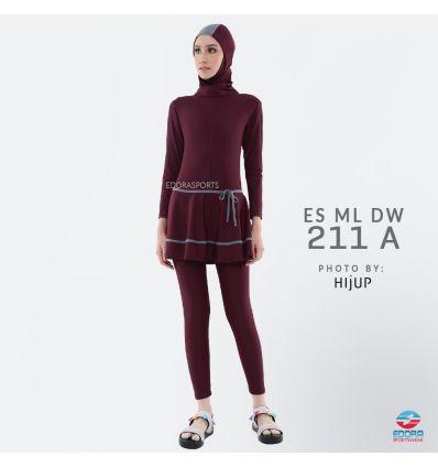 Baju Renang Muslimah Edora ES ML DW 211 A