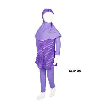Baju Renang Anak Perempuan Sulbi SBAP 202
