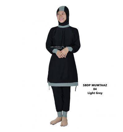 Baju Renang Muslimah Sulbi Mumtaaz 04 Light Grey