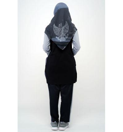 Rocella Kaos Zamora Black Grey