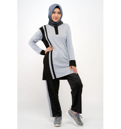 Rocella Celana Jogging Black Grey