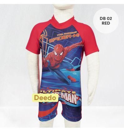 Baju Renang Bayi Deedo DB 02 Red