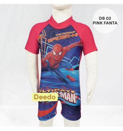 Baju Renang Bayi Deedo DB 02 Pink Fanta