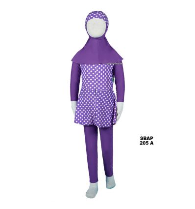 Baju Renang Anak Perempuan Sulbi SBAP 205 A