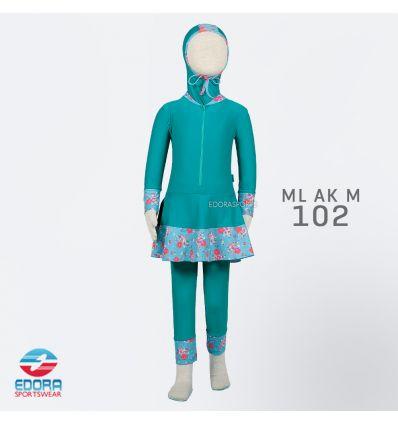 Baju Renang Anak TK Edora ML AK M 102