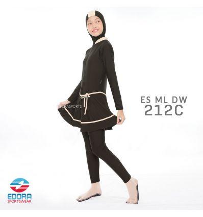 Baju Renang Muslimah Edora ES ML DW 212 C