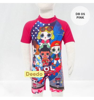 Baju Renang Bayi Deedo DB 05 Pink