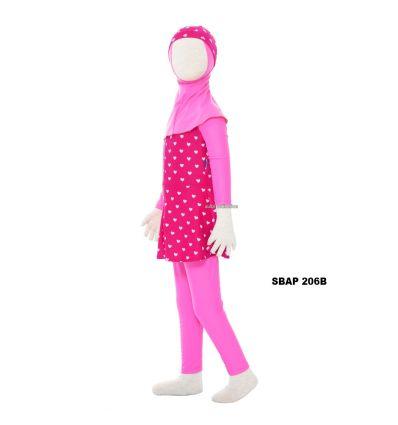 Baju Renang Anak Perempuan Sulbi SBAP 206 B