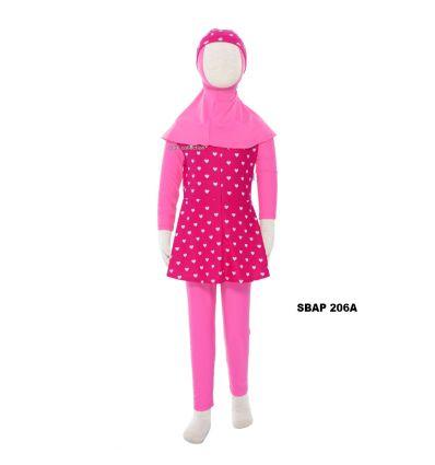 Baju Renang Anak Perempuan Sulbi SBAP 206 A